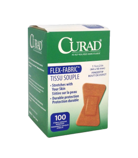 CURAD Flex-Fabric Fingertip Bandages