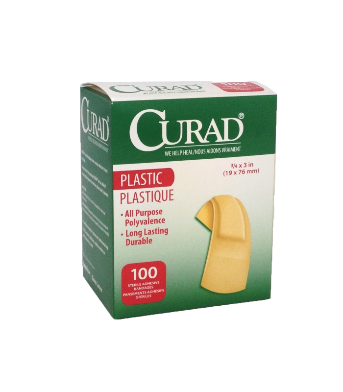 Curad Plastic Adhesive Bandage Cesco Medical
