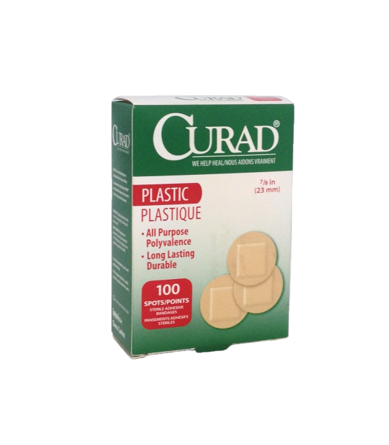 Curad Plastic Spot Bandage Cesco Medical