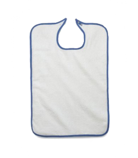 Adult Bib Terry with Snap Closure