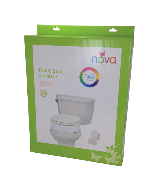 NOVA Elongated Toilet Riser