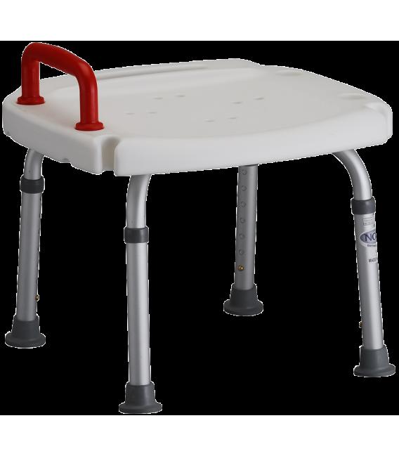 Nova Bath Bench w/ Red Safety Handle