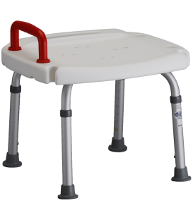 Nova Bath Bench w/ Red Safety Handle
