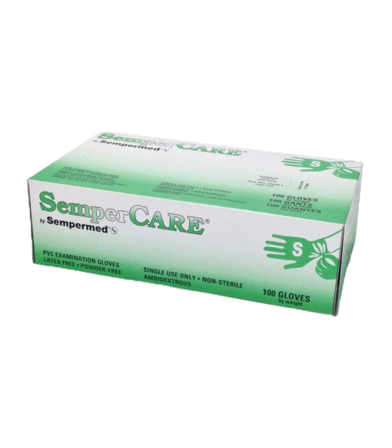 Sempercare Stretch Vinyl Gloves Cesco Medical