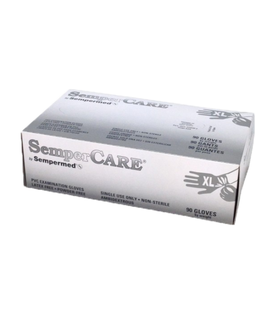 SemperCare Stretch Vinyl Exam Gloves