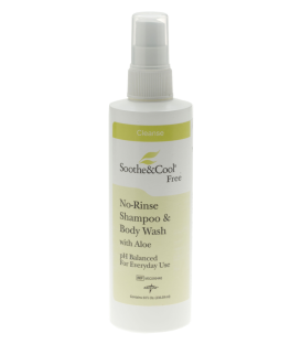 Soothe&Cool No-Rinse Shampoo & Body Wash