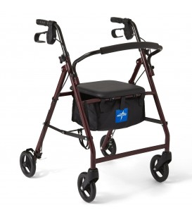Medline Steel Rollator Walker